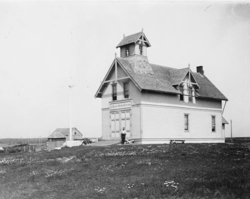 U.S. Life Saving Station, Ditch Plains, Long Island, New York.