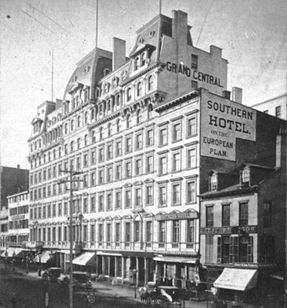 The Grand Central, Broadway Central Hotel