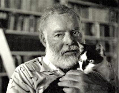 Ernest Hemingway loved polydactyl cats.