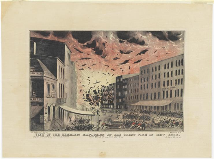 Great Fire New York