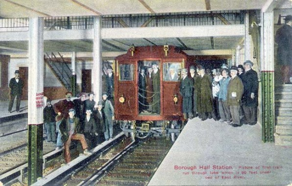 First train to Brooklyn