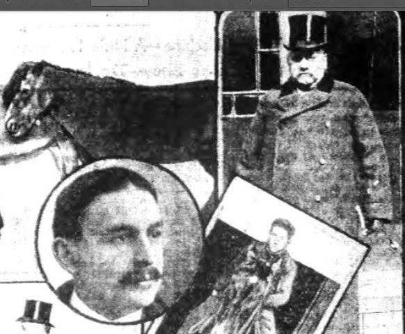 Dr. Martin J. Potter (in circle) and Dr. Samuel S. Field