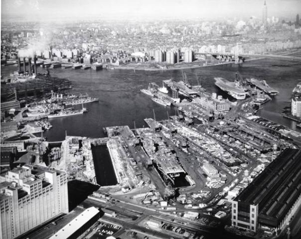 Brooklyn Navy Yard 1956