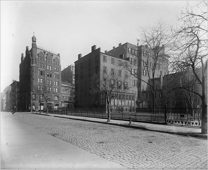Peter Goelet mansion, Broadway and 19th Street
