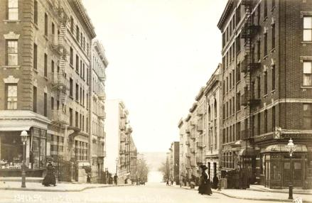 West 139th Street north of Amsterdam Avenue, 1905
