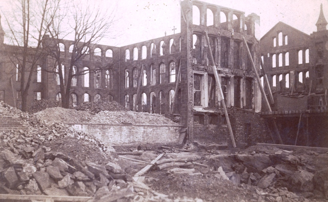 Academy of Sacred Heart ruins
