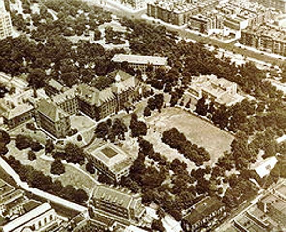 aerial view of Manhattanville College of the Sacred Heart