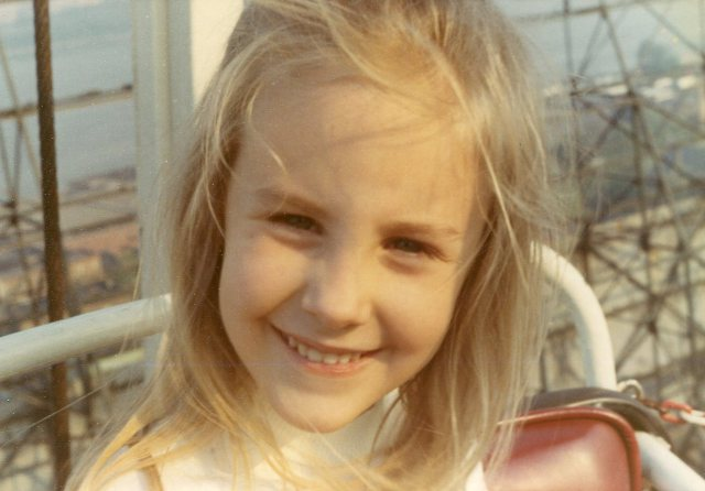 When I was a child, my dad would often take me to Palisades Amusement Park, which was only a 15-minute drive from my home in Bergen County, New Jersey. Here I am on the Ferris wheel, about a year before the park closed forever.