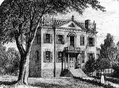 Robert and Mary Murray house, pre-1834.