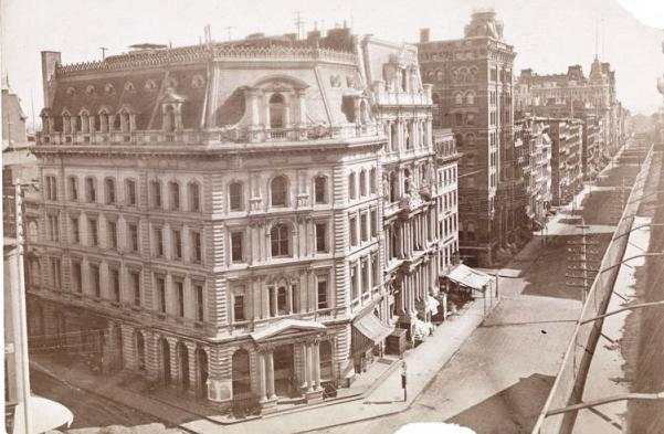 The New York Herald Building around 1875.