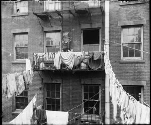 Tenement on Allen Street, New York City