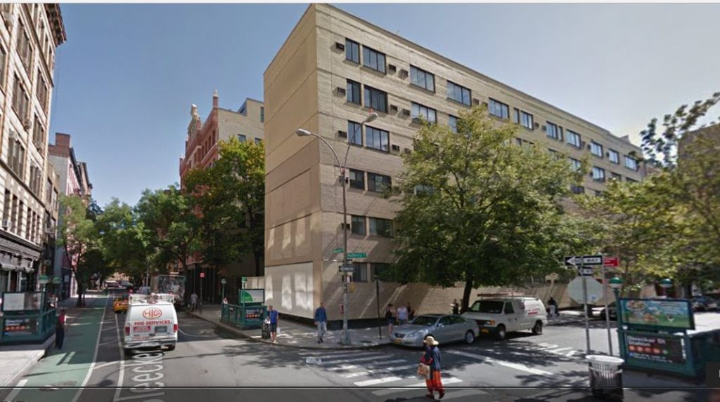 A new building was constructed at 38-42 Bleecker Street in 1974. Called Mulberry North, it features 92 residential units that are reportedly converting to condos in the near future.