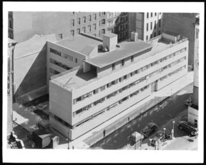 In 1947, the year Fred Sauter retired, 42 Bleecker Street was replaced by the new St. Barnabas Home.