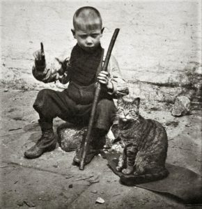 Young children were turned into cat hunters every year during the Bowling Green cat roundup.