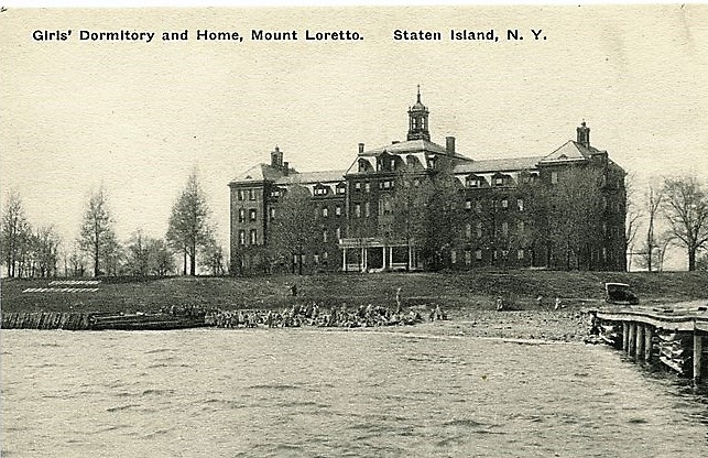 St. Elisabeth's girls dormitory at Mount Loretto