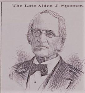 Alden J. Spooner (1810-1881) was a prominent resident of Brooklyn and one of the founders of the Long Island Historical Society.