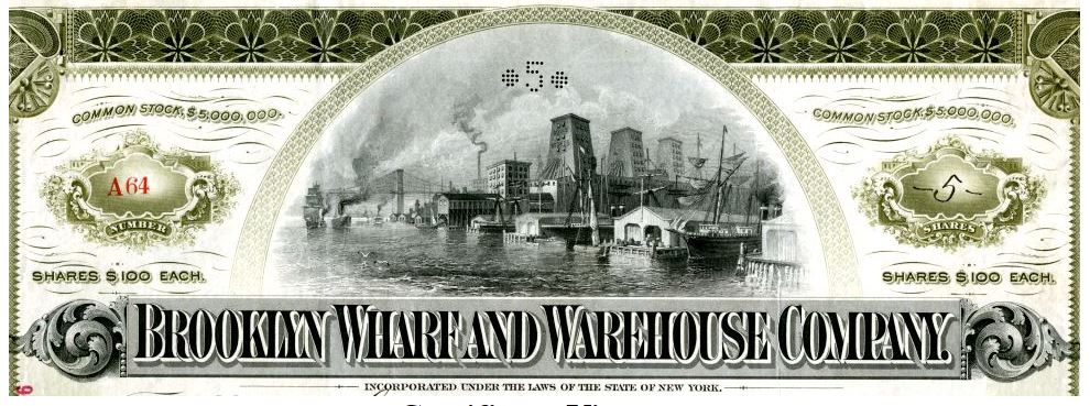 Brooklyn Wharf and Warehouse Company
