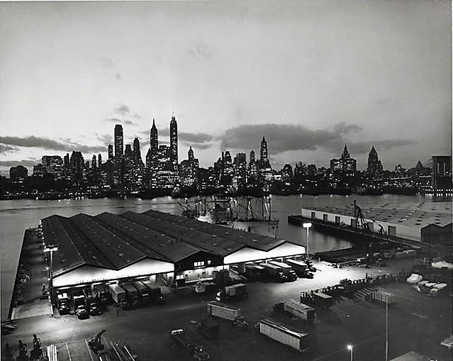 Here are the Brooklyn Port Authority Piers in 1959.