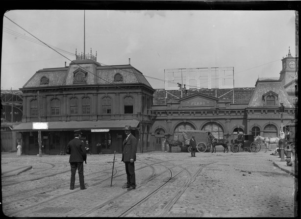 The Pavonia Ferry Terminal at 23rd Street opened in 1869.