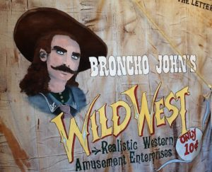 """Bronco John"" Harrington Sullivan was a cowboy and showman known for his tall tales."