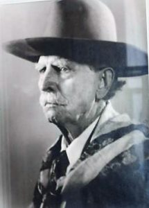 Bronco John in his later years.